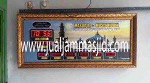 jam digital adzan buat masjid