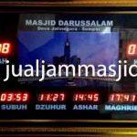 jual jam dinding digital untuk masjid di tangerang barat