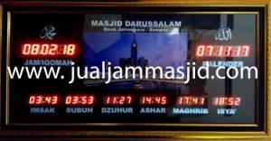 jam digital sholat masjid di duren jaya