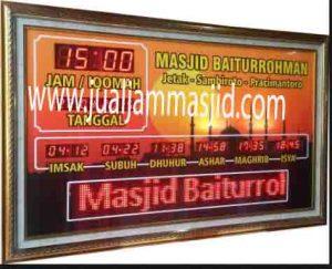beli jam digital masjid di bekasi utara
