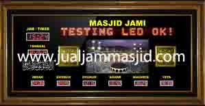 jual jam dinding digital untuk masjid di depok pusat