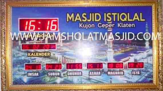 jual jam dinding digital untuk masjid di jakarta utara