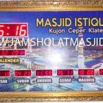 beli jam digital masjid di bekasi selatan