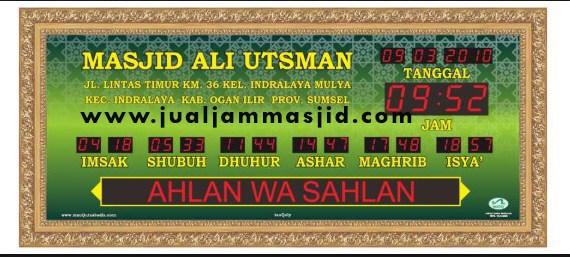 jam digital sholat masjid di grandwisata