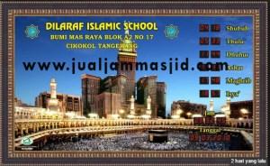 jual jam digial masjid depok utara