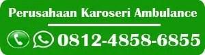 karoseri ambulance Riau, karoseri ambulan Riau, jual mobil ambulance Riau