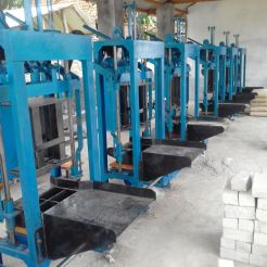 mesin paving block manual