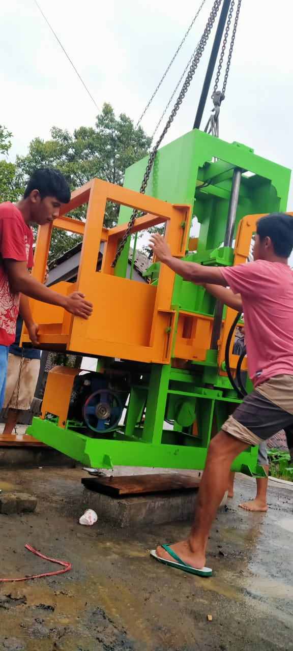jual mesin press batako dan mesin paving block