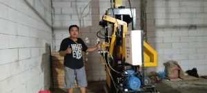 Jual mesin paving block Sukabumi