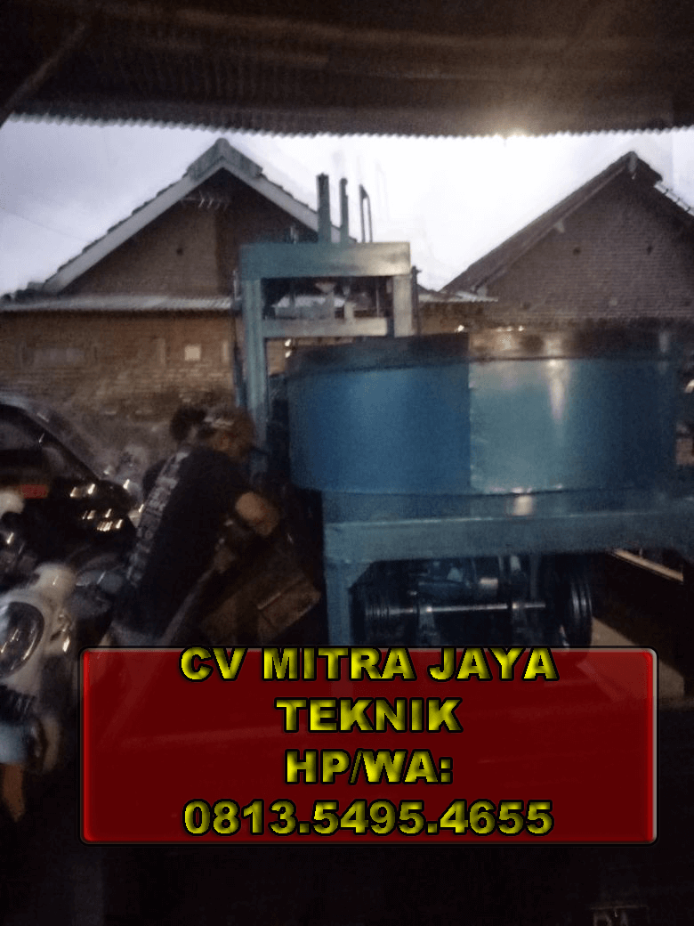 Jual mesin paving block binjai