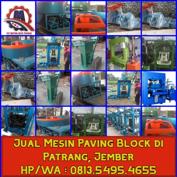 Jual Mesin paving block di Patrang, Jember