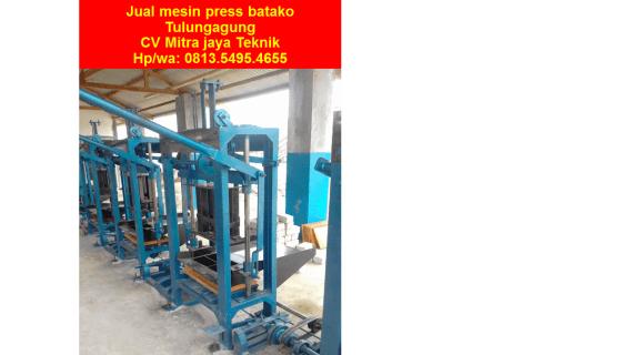 Jual mesin press batako Tulungagung
