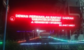 toko Running text display di surabaya