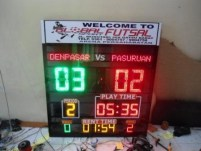 jual Running text display surabayaU