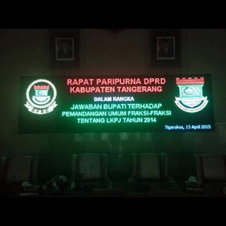 jual running text surabaya
