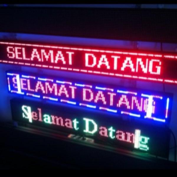 jual running text denpasar bali