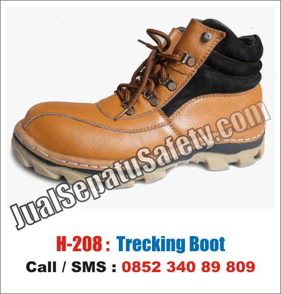 H.208 Sepatu Gunung Murah Safety BOOT Gunung Sporty, HP: 0852 340 89 809