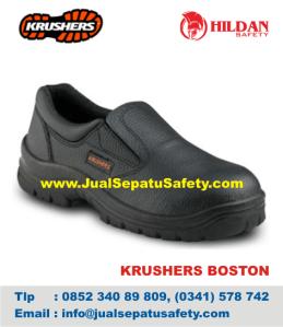 Jualan Sepatu Safety KRUSHERS BOSTON, HP.0852 340 89 809