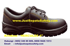 Krisbow Hercules 4 inch-Grosir Sepatu Lapangan Pendek Bertali, HP.0852 340 89 809