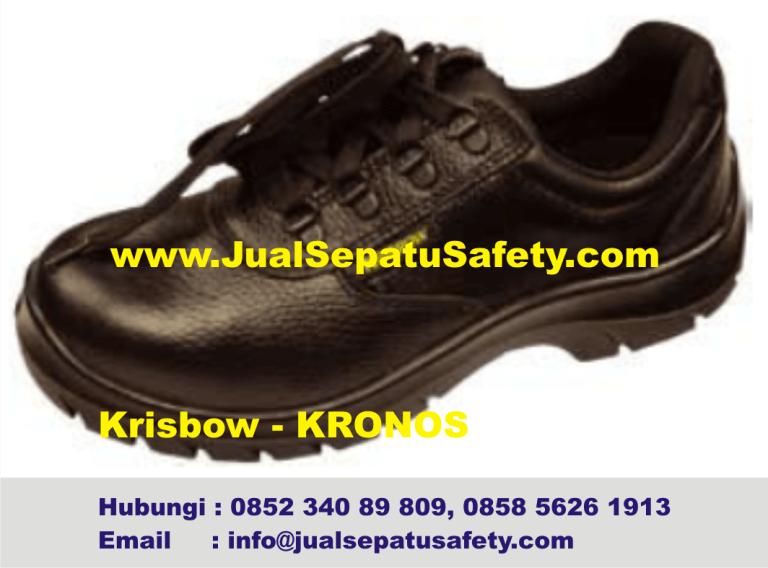 Krisbow Kronos-Katalog Sepatu Safety Pendek Bertali, HP.0852 340 89 809
