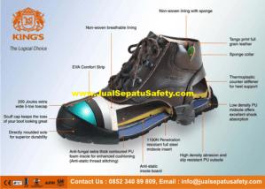 JualSepatuSafety.com - Komponen Sepatu Safety Shoes, HP: 0852 340 89 809