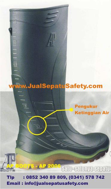 AP BOOTS - AP 2006 dengan Pengukur Ketinggian Air Meteran