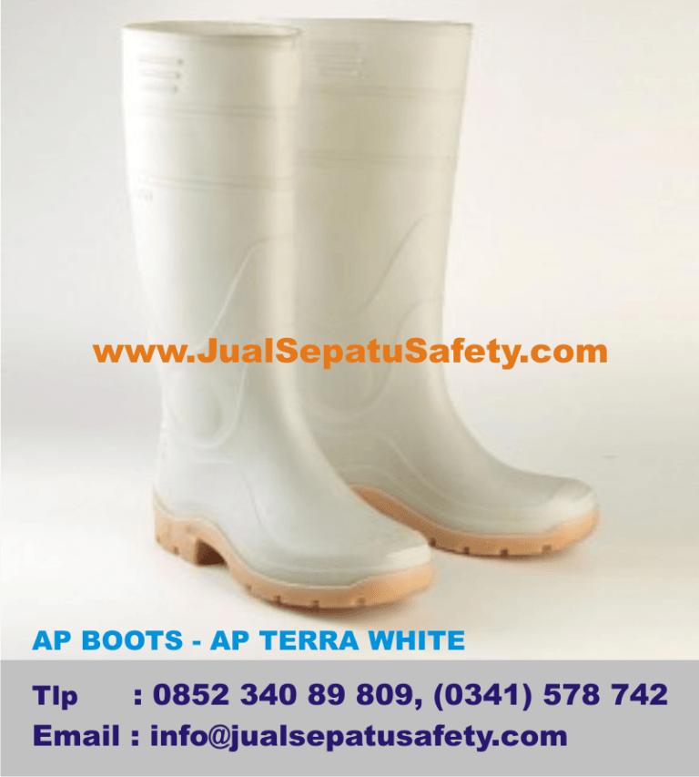 Distributor Sepatu AP BOOTS - AP TERRA WHITE, Pekerja Pabrik,Restaurant dan Industri