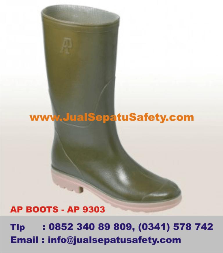 Gambar Sepatu AP BOOTS - AP 9303, Cleaning Service Tukang Kebun, Petani, Nursery, Tukang Taman
