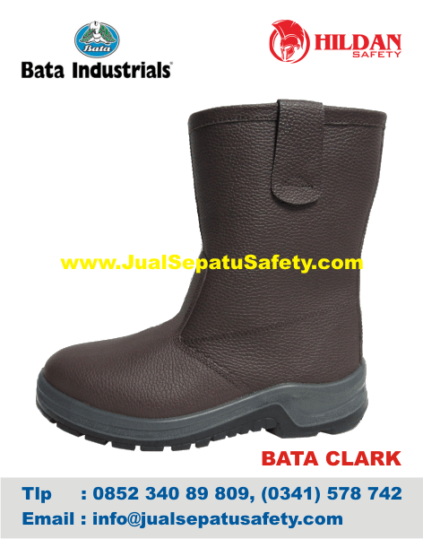 Supplier Sepatu Safety Shoes BATA-CLARK S1P