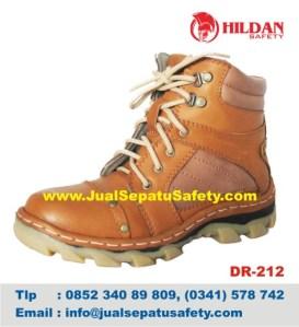 DR 212 - Jual Sepatu GUNUNG MURAH Safety Shoes Kulit ASLI, HP.0852 340 89 809