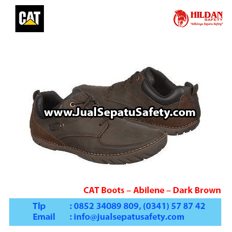 CAT Boots – Abilene – Dark Brown