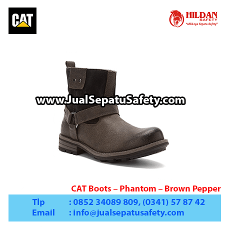 CAT Boots – Phantom – Brown Pepper1