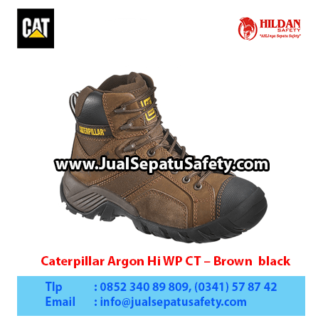 Caterpillar Argon Hi WP CT – Brown black