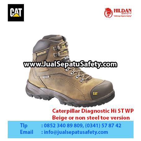 Caterpillar Diagnostic Hi ST WP – Beige or non steel toe version