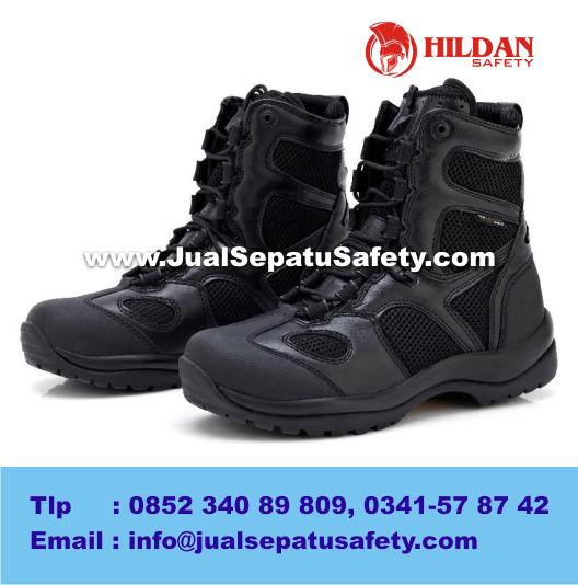 Jual Sepatu Blackhawk Tactical Combat Boots - Black Hitam Import Original
