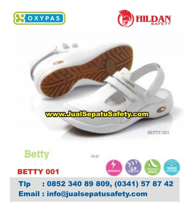 OXYPAS BETTY 001, Sepatu Tenaga Medis Rumah Sakit