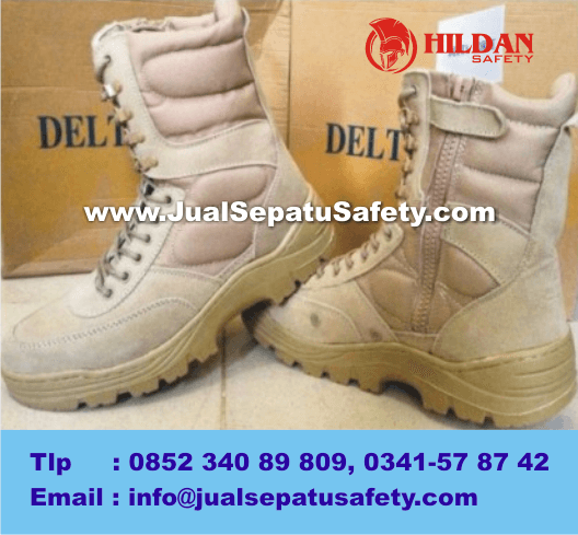 Supplier Sepatu BOOTS DELTA FORGE Tactical Series, KHAKI