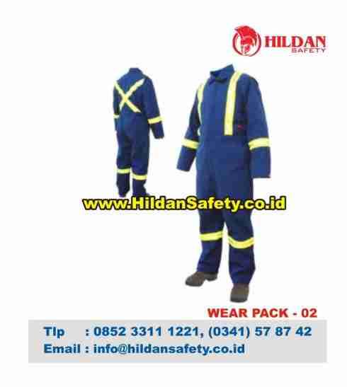 WP.002, Wear Pack Safety Biru