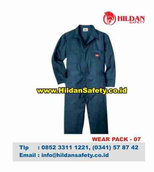 WP.007, Wearpack Coverall Biru