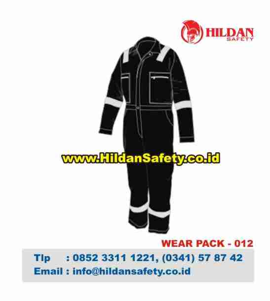WP.012, Pakaian Safety Hitam