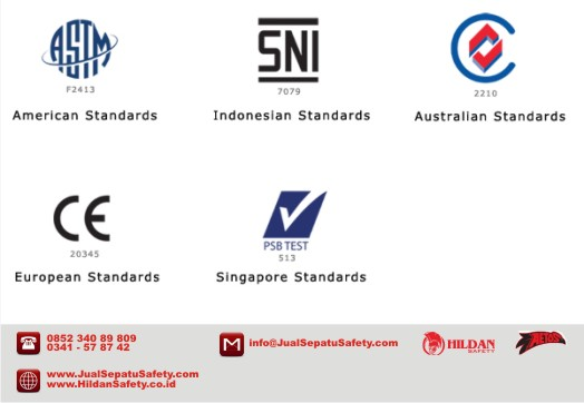 Standard Kualitas Sepatu Safety Shoes AETOS