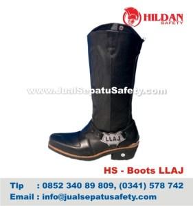 HS - Boots LLAJ, Harga Sepatu Petugas Lalu Lintas Jalan Raya