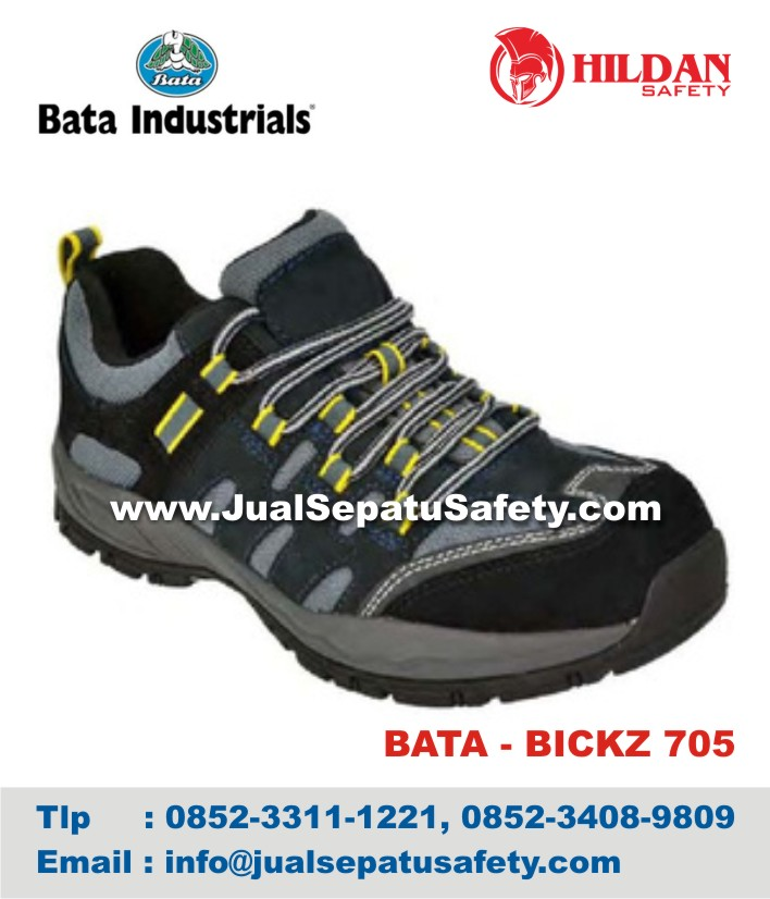 Sepatu Safety Shoes BATA BICKZ 705