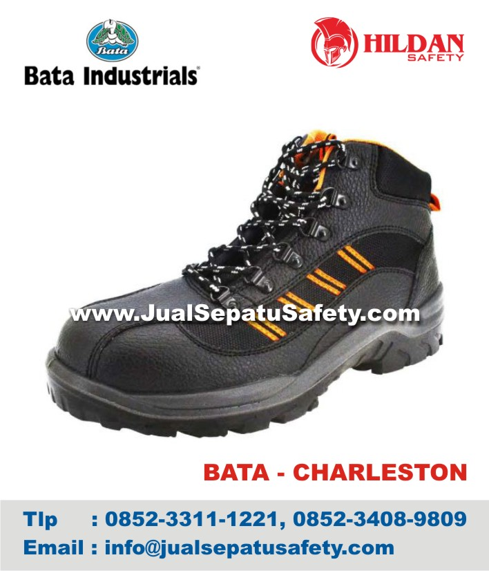 Sepatu Safety Shoes BATA CHARLESTON