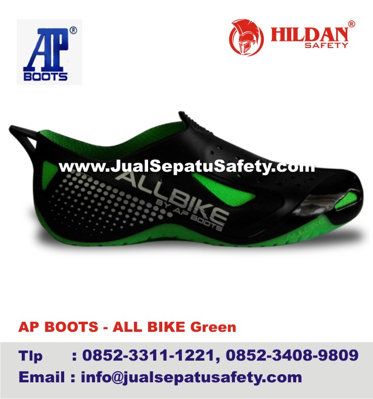 0852-3311-1221, Jual AP BOOTS ALL BIKE GREEN Terbaru