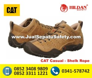 Pesan Sepatu CATERPILLAT Original Non Safety - CAT CASUAL Shelk Rope ONLINE