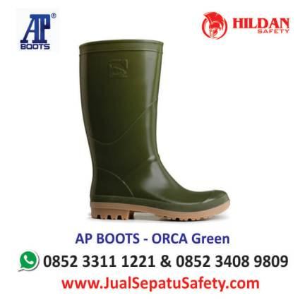 harga-sepatu-karet-ap-boots-orca-green-hijau