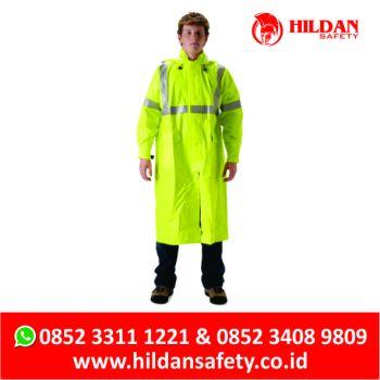 Jual Jas Hujan Tahan Api, Produsen Baju Anti Api, Fire Retardant Rain Coat Indonesia