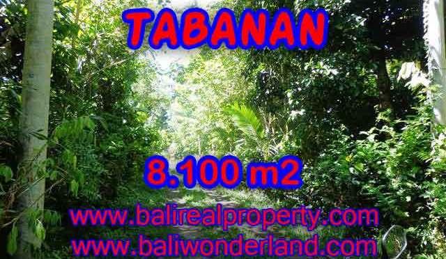 TANAH DI BALI DIJUAL, MURAH DI TABANAN TJTB113 - INVESTASI PROPERTY DI BALI