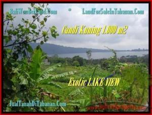 JUAL TANAH di TABANAN BALI 1.000 m2  View Danau Beratan dan Gunung